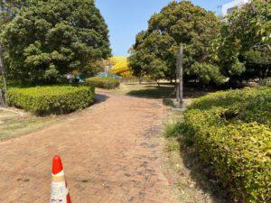 シドニー港公園入り口