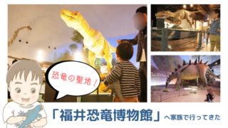 子連れ福井旅行*福井県立恐竜博物館に家族で行ってきた