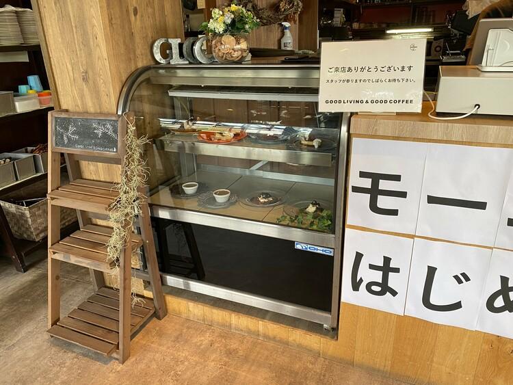 四日市川島グッドリビング アンド グッドコーヒー店内