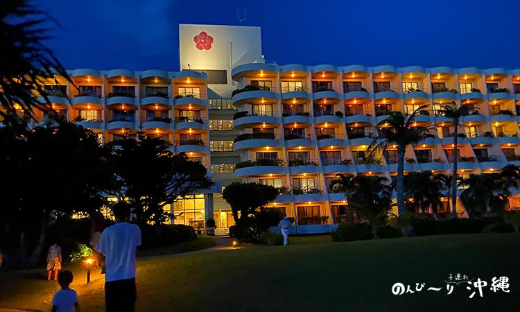 夜の宮古島東急ホテル