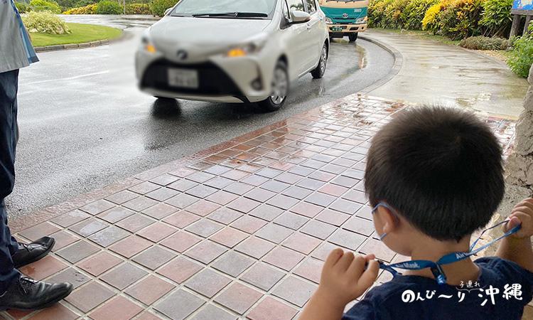 宮古島東急の駐車場