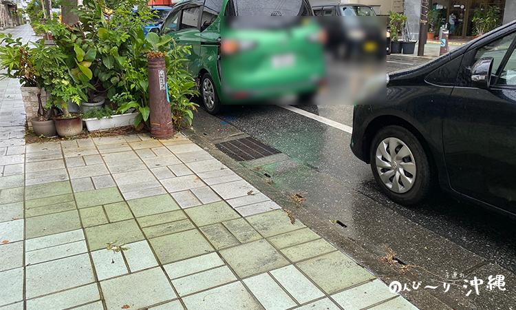 リッコジェラート駐車場